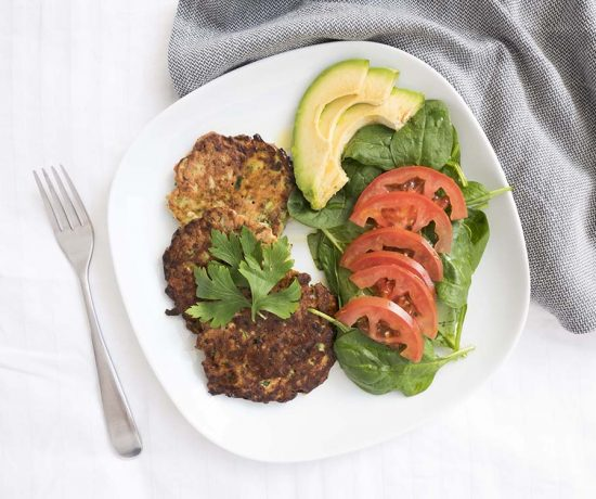 Zucchini Fritter | Eat Yourself Green