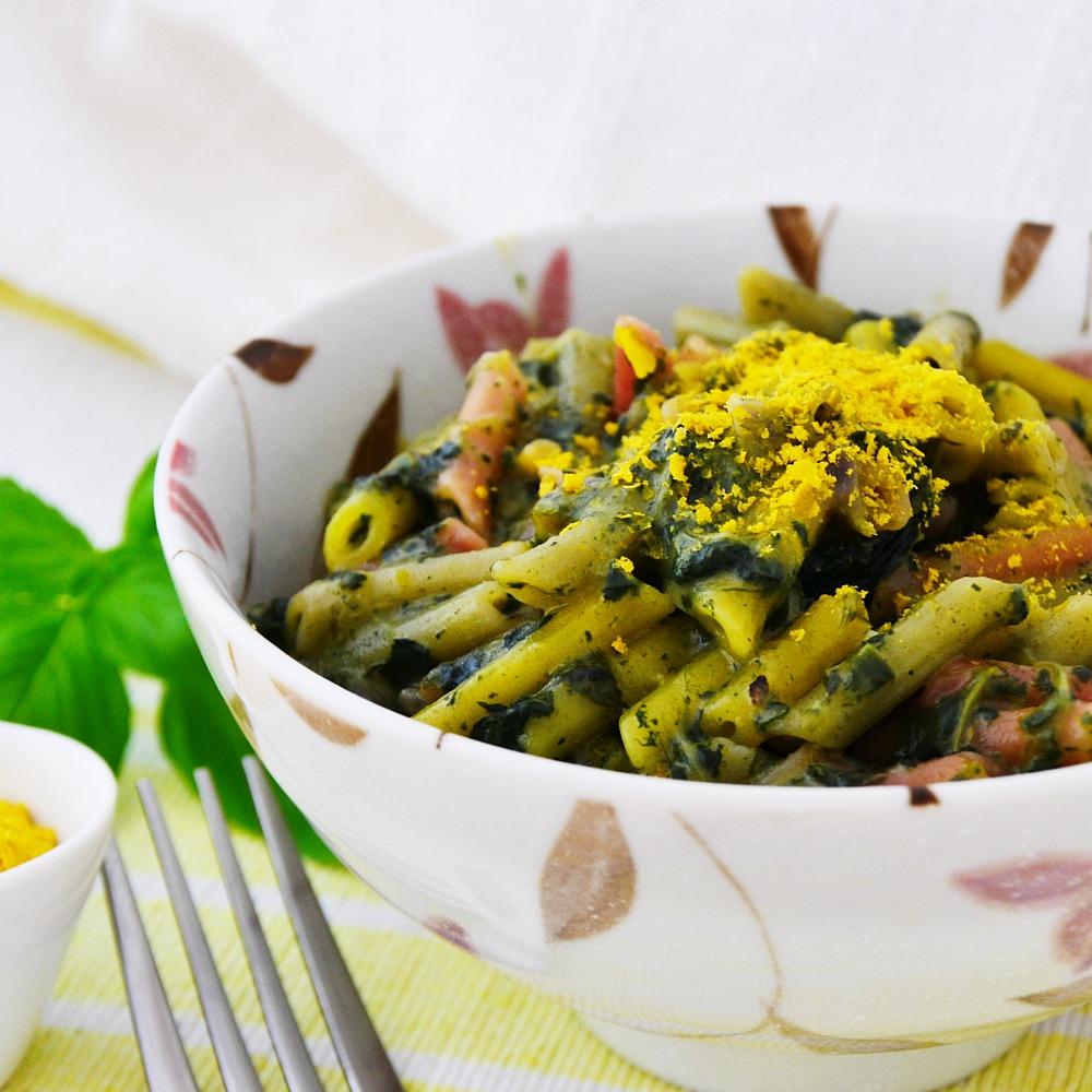 Vegan Florentine Pasta