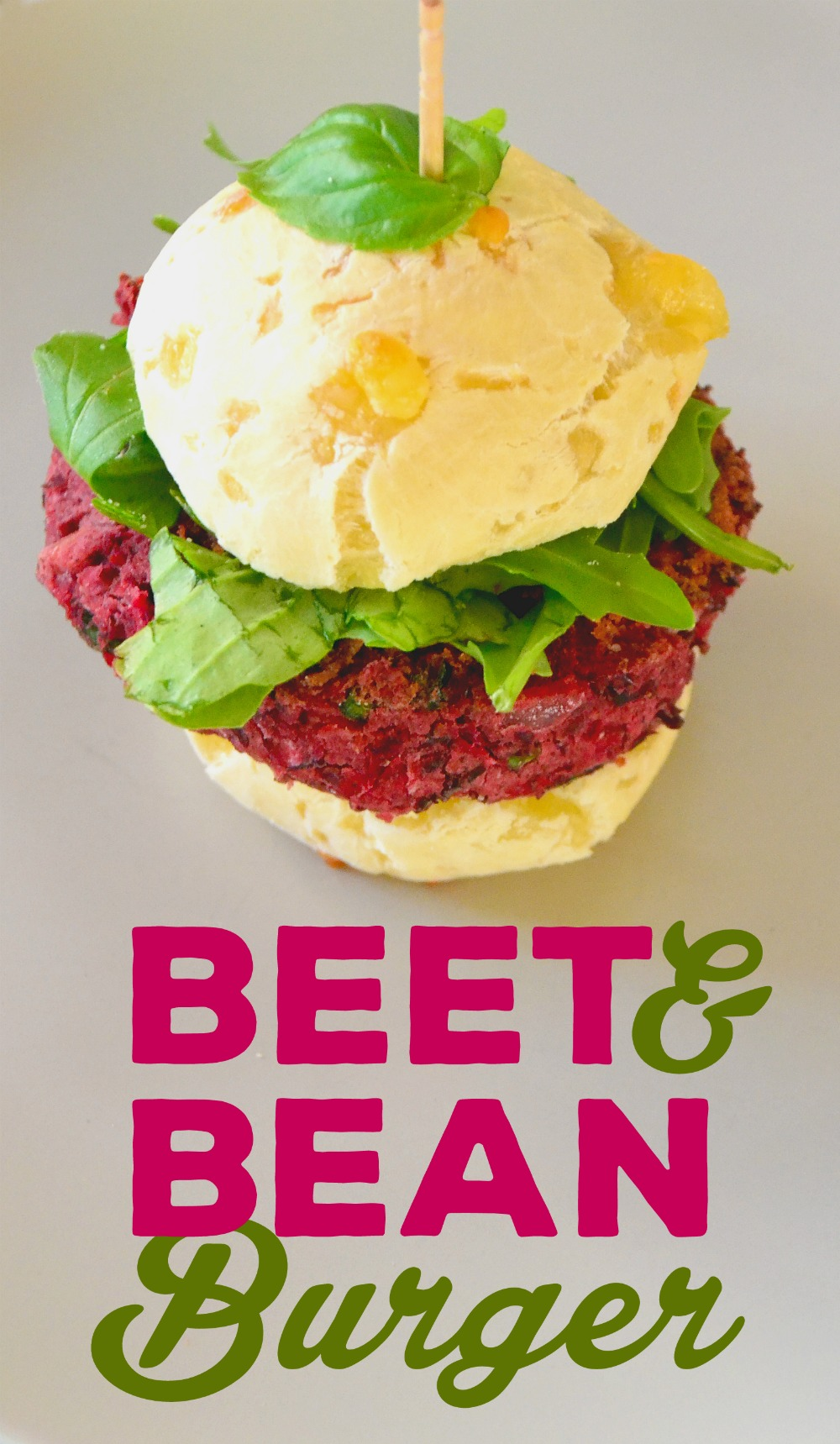 Beet & Bean Burger
