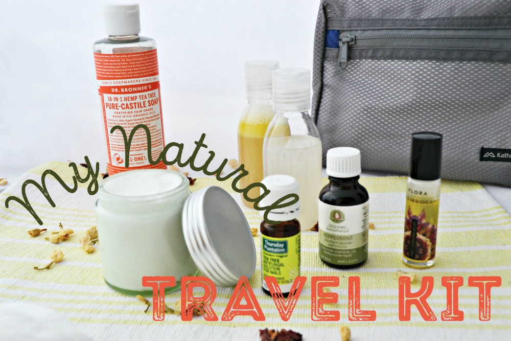 My Natural Travel Kit (Homemade Deodorant + Shampoo)
