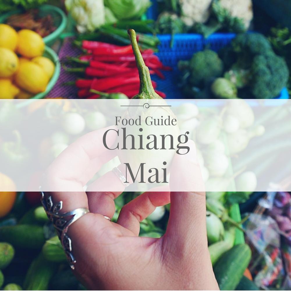Food Guide Chiang Mai