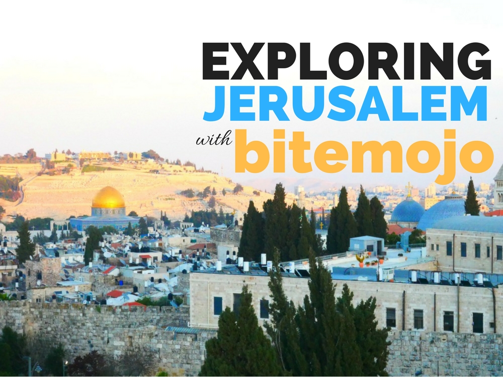 Jerusalem with Bitemojo