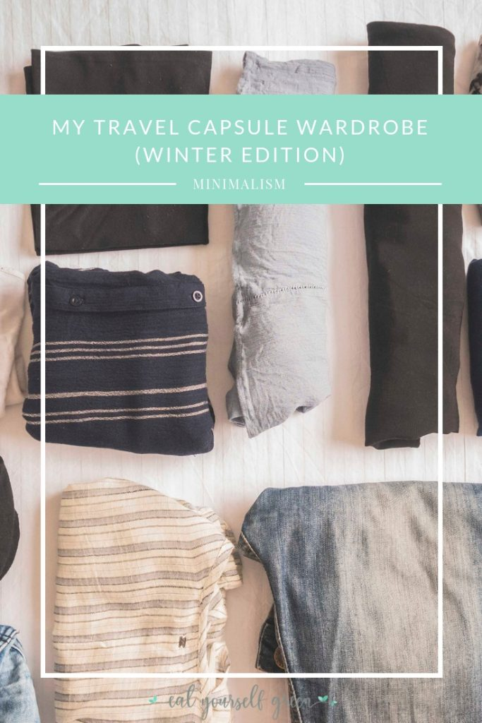 My Capsule Wardrobe (Winter Edition) | Eat Yourself Green