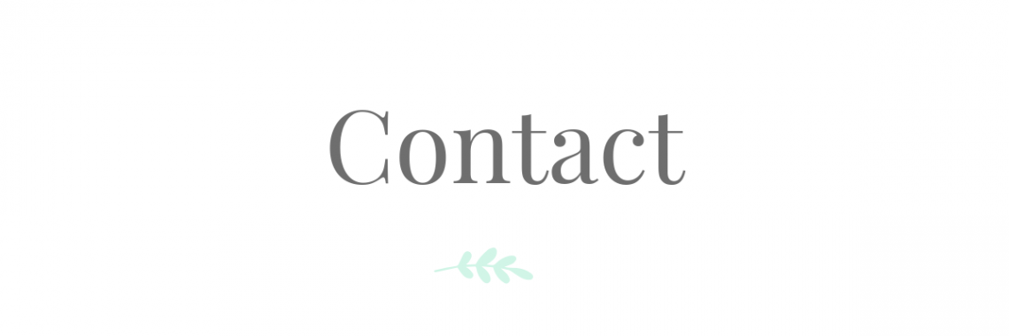 Contact | Eat Yourself Green