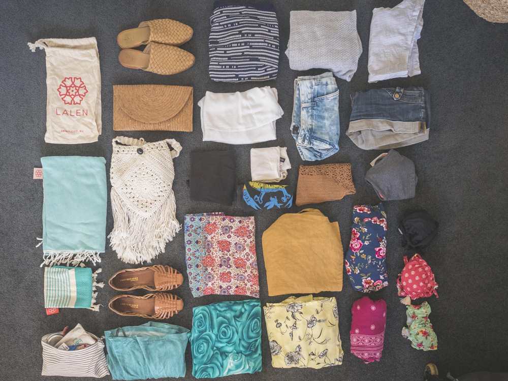 My Travel Capsule Wardrobe (Summer Edition) | Eat Yourself Green