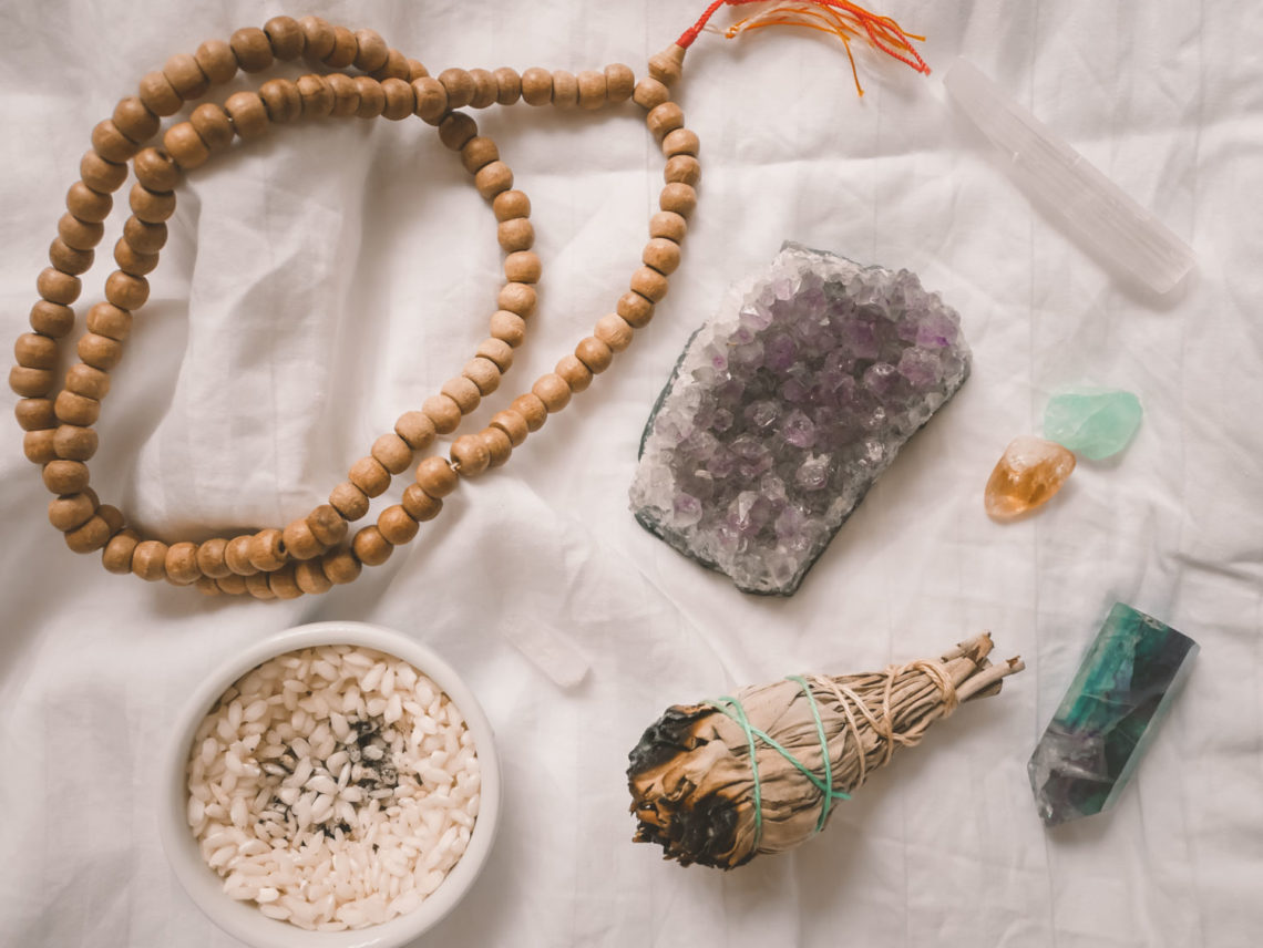 The Cost of Our Obsession with Crystals + Smudges | Eat Yourself Green