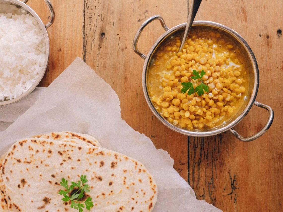 Yellow Split Pea Dahl | Eat Yourself Green