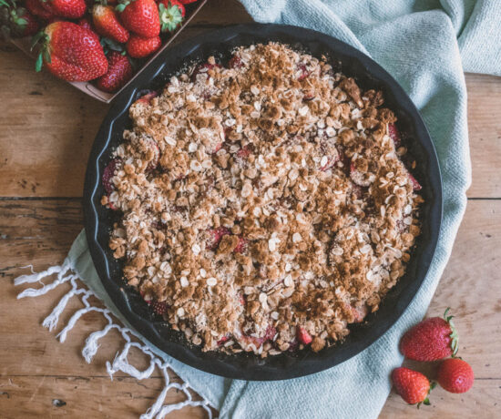 Strawberry Crumble | Eat Yourself Green